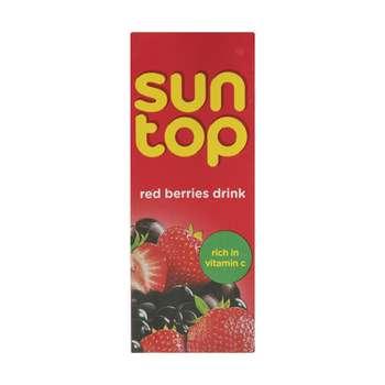 نوشیدنی میوه های قرمز سان تاپ حجم 200 میلی لیتر