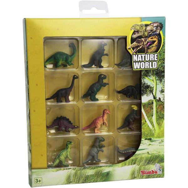 عروسک دایناسور سیمبا مدل Nature World سایز خیلی کوچک
