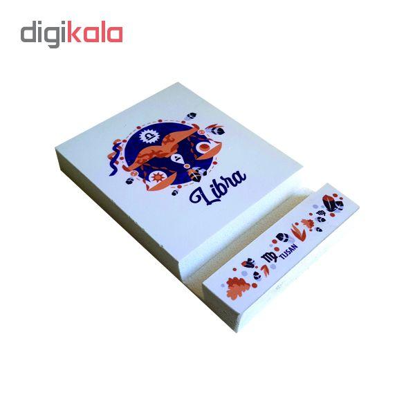 پایه نگهدارنده گوشی موبایل تیج سان طرح ماه تولد مهر مدل A7 main 1 2