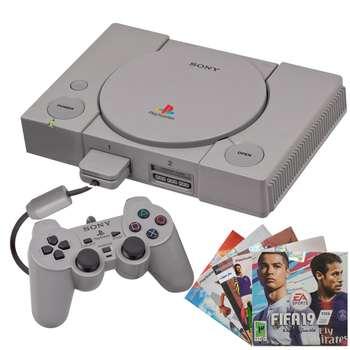 تصویر کنسول بازی سونی Playstation 1 Sony plastation 1