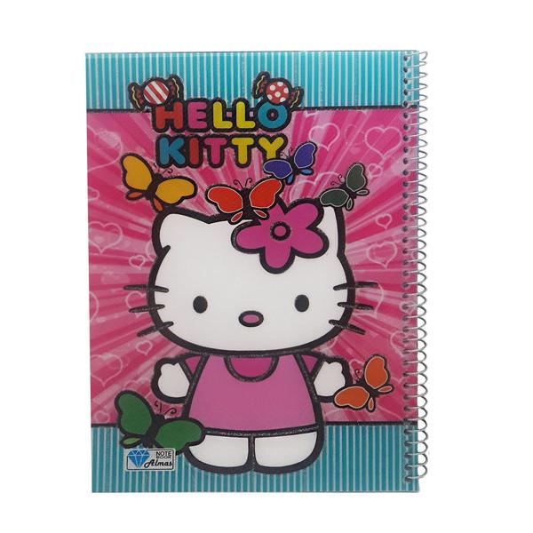 دفتر نقاشی 50 برگ الماس طرح کارتونی کد 110716