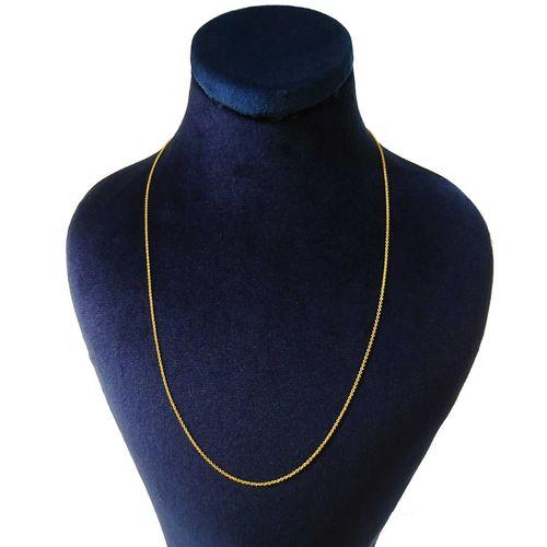 زنجیر طلا 18 عیار زنانه کانیار گالری کد 1
