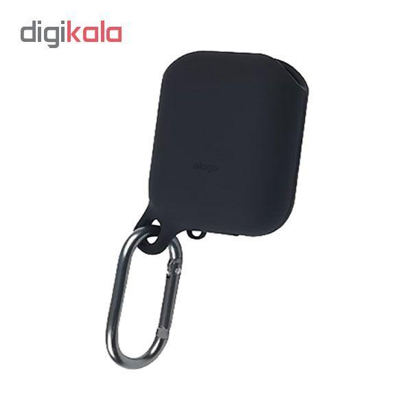 کاور محافظ سیلیکونی ضد آب الاگو مناسب برای کیس اپل AirPods main 1 8