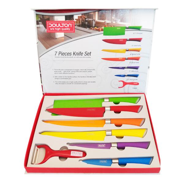 سرویس چاقوی آشپزخانه 7 پارچه دالتون کد 2020