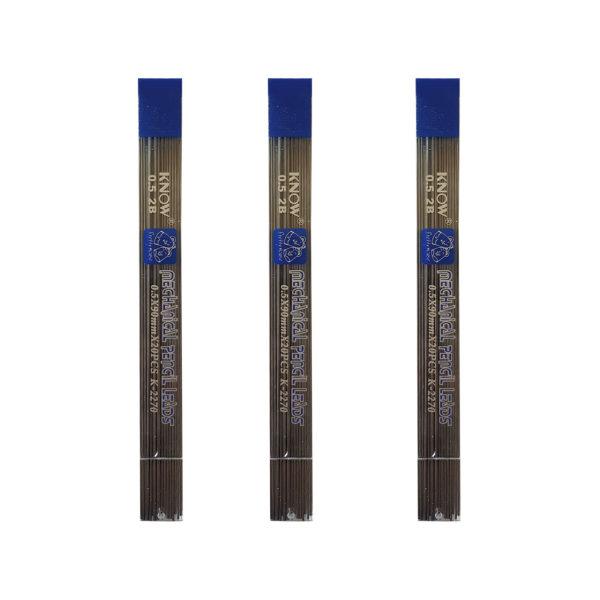 نوک مداد نوکی 0.5 میلی متر نو کد K-2270 بسته 3 عددی