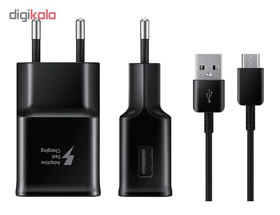 شارژر دیواری مدل EP-TA20EWE به همراه کابل تبدیل USB-C main 1 4
