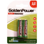 باتری قلمی گلدن پاور مدل Eco Total Super Heavy Duty بسته 2 عددی thumb