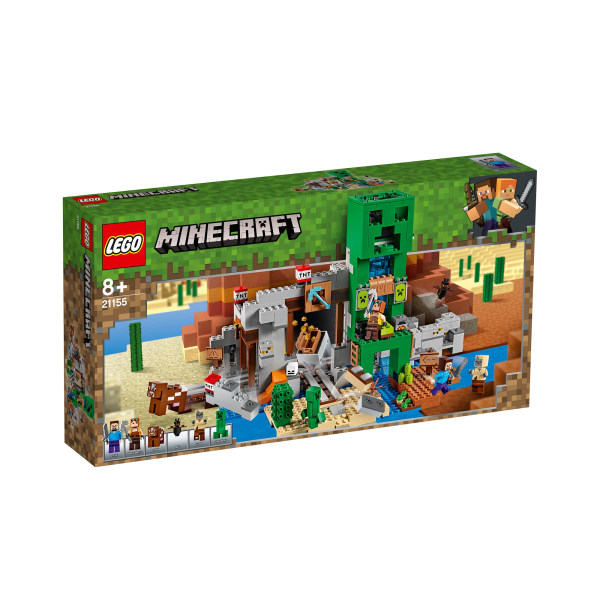 لگو سری Minecraft مدل The Creeper Mine کد 21155