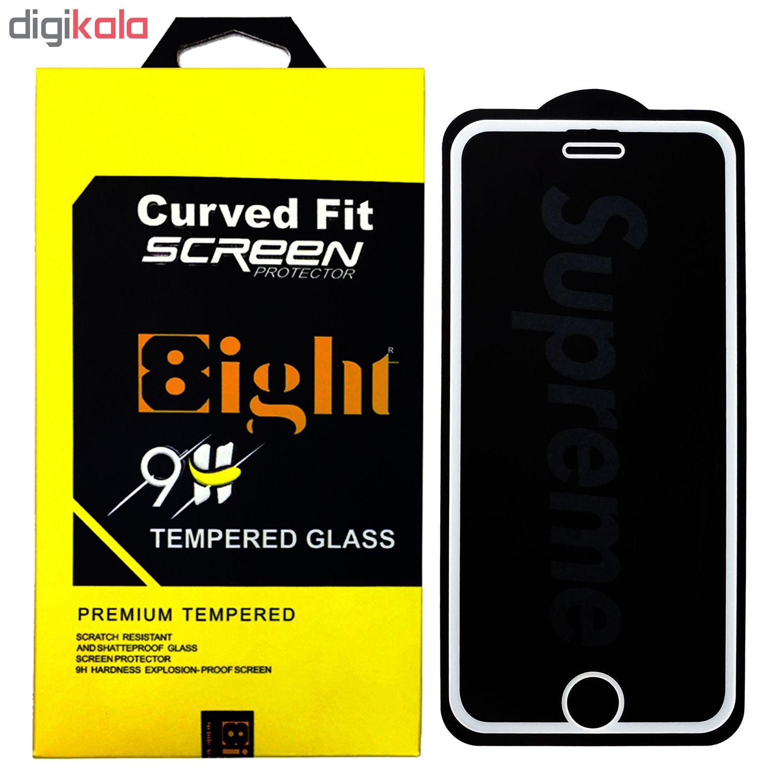 محافظ صفحه نمایش ایت طرح سوپریم کد 01 مناسب برای گوشی موبایل اپل IPhone 8 Plus/7 Plus main 1 2