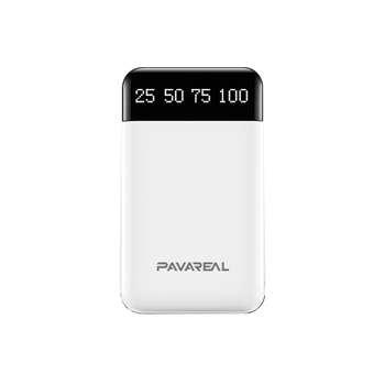 شارژر همراه پاواریل مدل PA-PB21 ظرفیت 10000 میلی آمپر ساعت