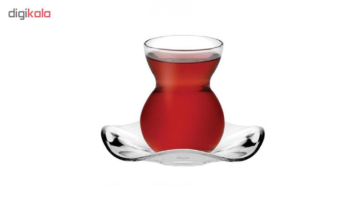 سرویس چایخوری 12 پارچه پاشاباغچه مدل Elysse
