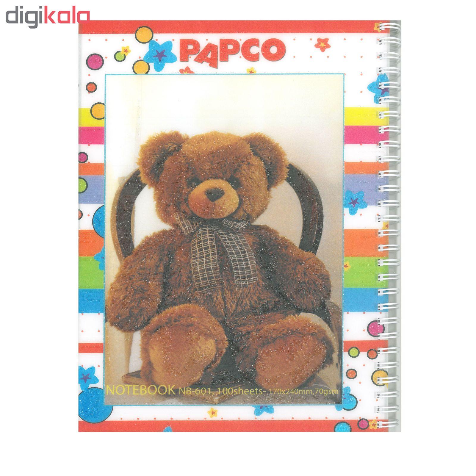 دفتر مشق پاپکو مدل NB-601 کد 322 main 1 1