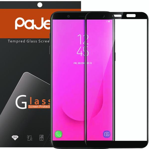 محافظ صفحه نمایش پاجی مدل P-SJ82018 مناسب برای گوشی موبایل سامسونگ Galaxy J8 2018