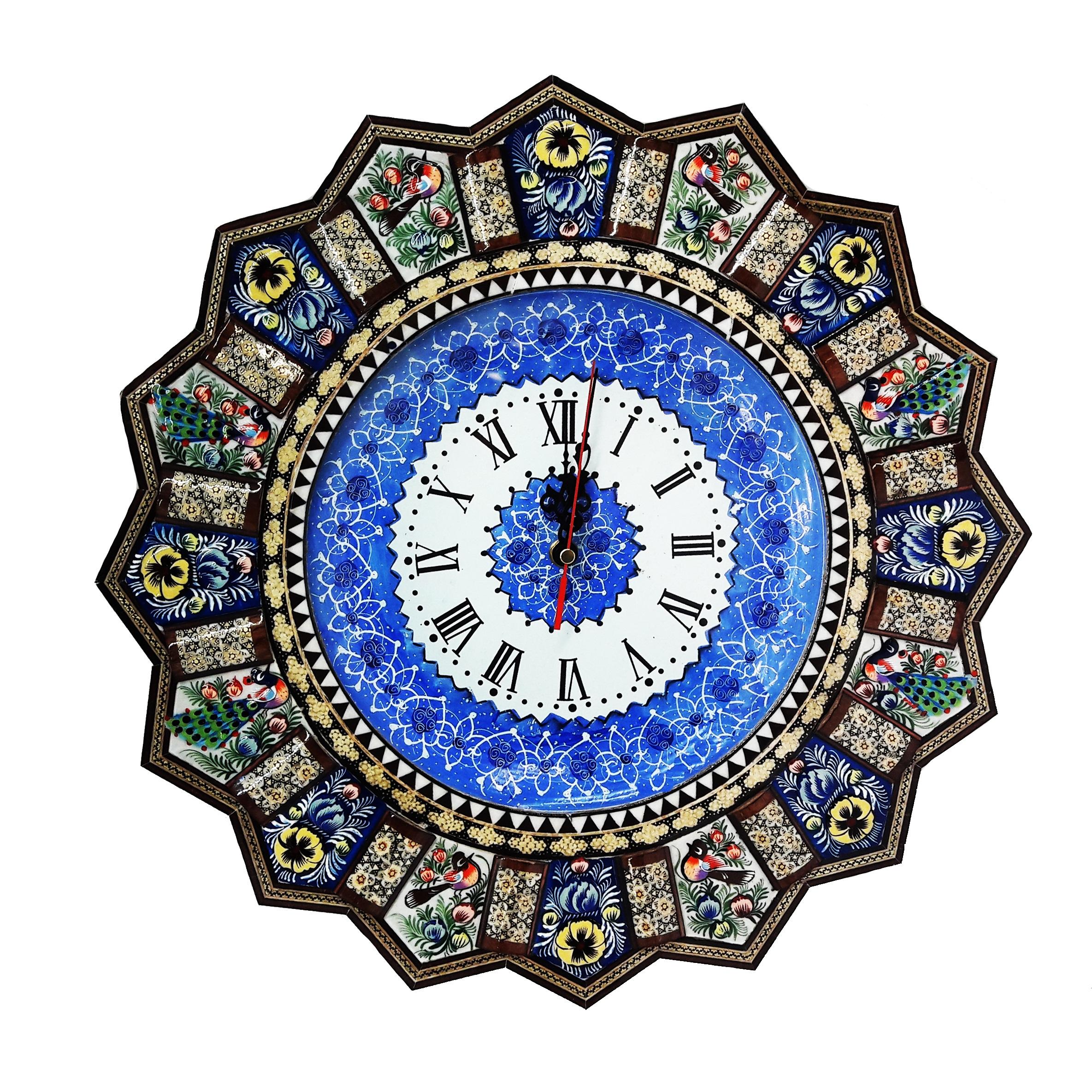 ساعت خاتم کاری طرح خورشیدی کد 225