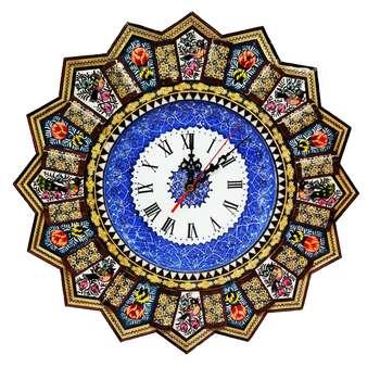 ساعت خاتم کاری طرح خورشیدی کد 226