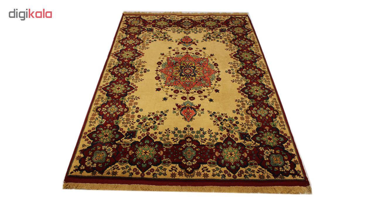 فرش دستبافت سه متری مدل قشقایی کد 1105740 یک جفت