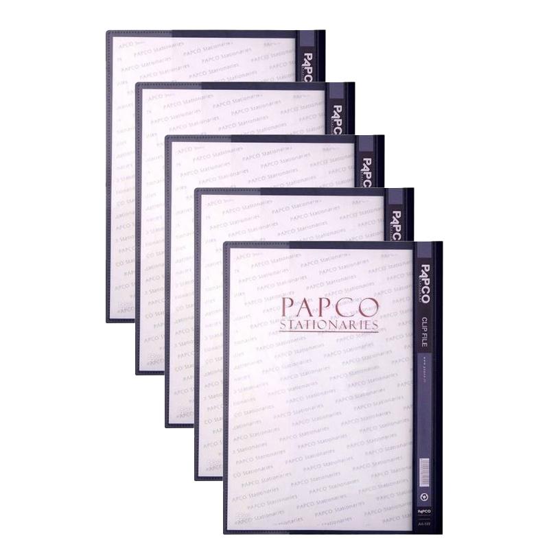 پوشه پاپکو کد A4-109 بسته 5 عددی