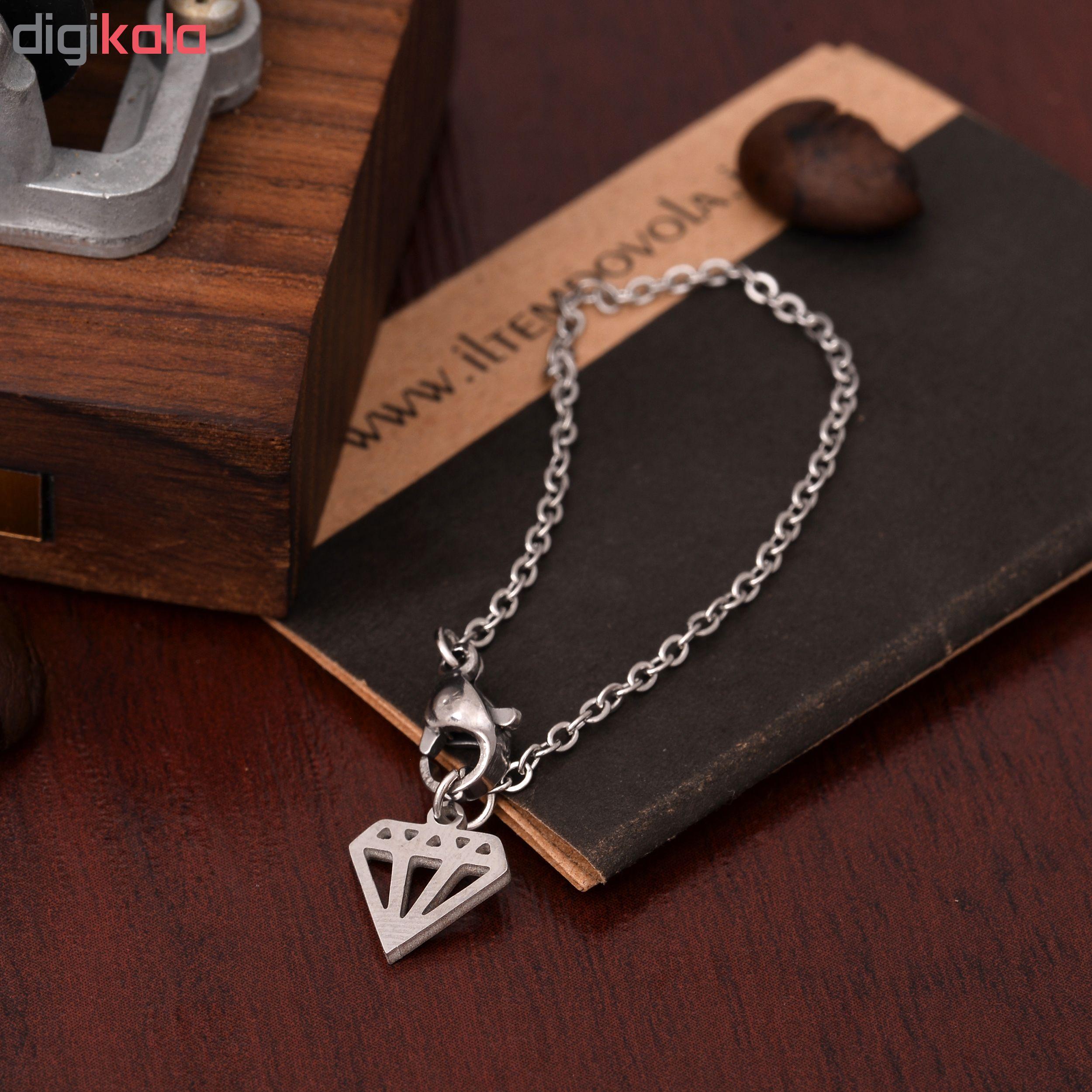 آویز ساعت طرح الماس کد AS1032