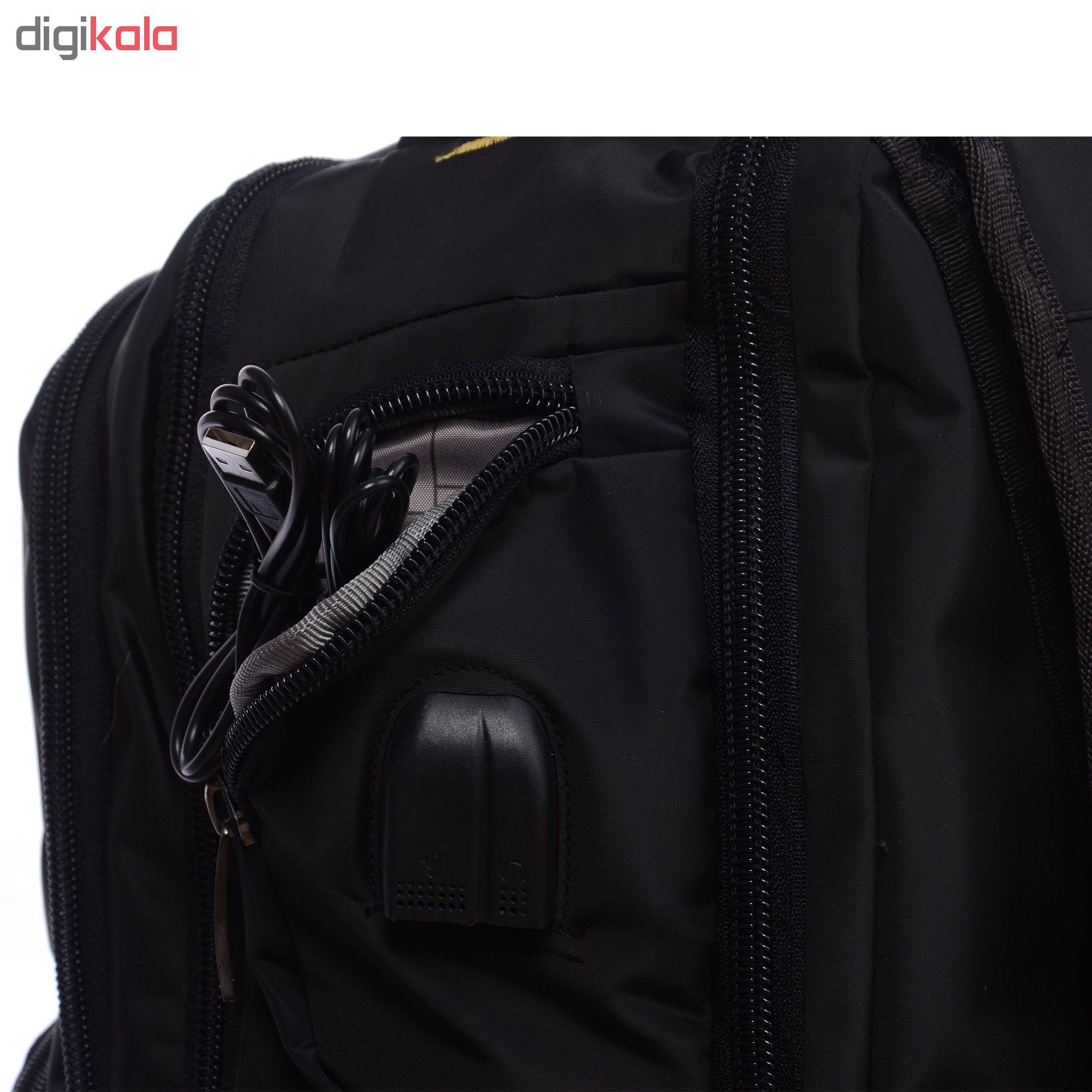 کوله پشتی لپ تاپ کاترپیلار مدل CP13 مناسب برای لپ تاپ 14 اینچی