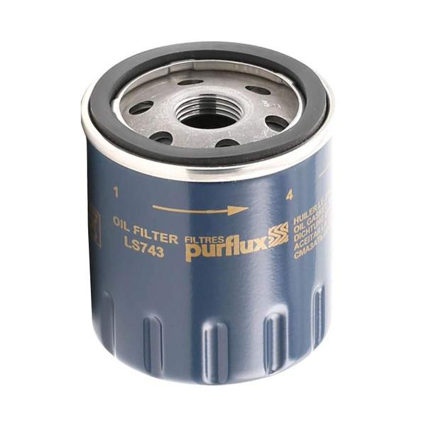 فیلتر روغن خودرو پرفلاکس مدل LS743 مناسب برای تویوتا کرولا