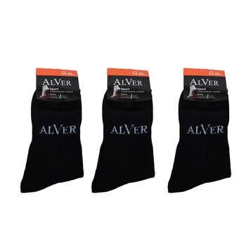 جوراب مردانه آلور کد 002-2 بسته 3 عددی