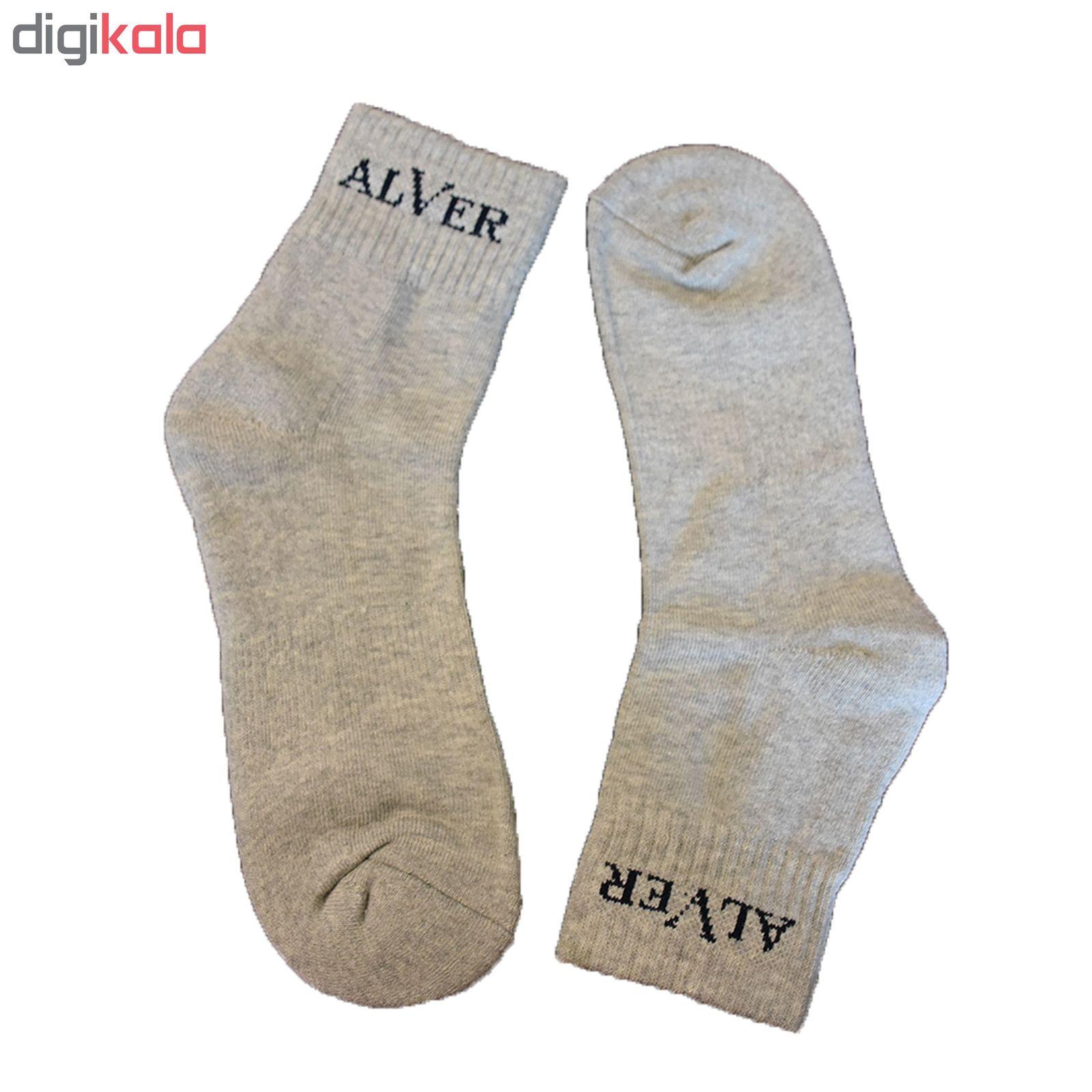 جوراب مردانه آلور کد 002-3 بسته 3 عددی main 1 1