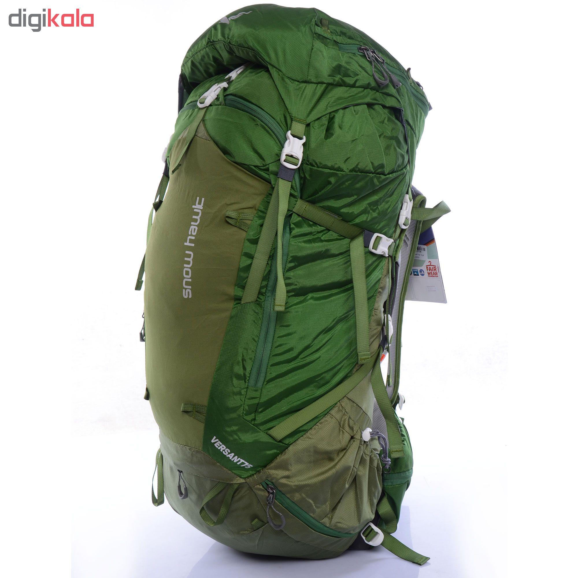 کوله پشتی کوهنوردی 75 لیتری اسنو هاوک کد 9889