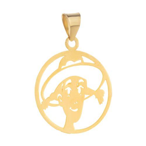 گردنبند طلا 18 عیار زنانه کد dm1058