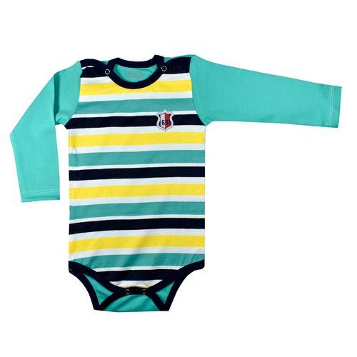 بادی آستین بلند نوزادی پسرانه نیروان کد 10