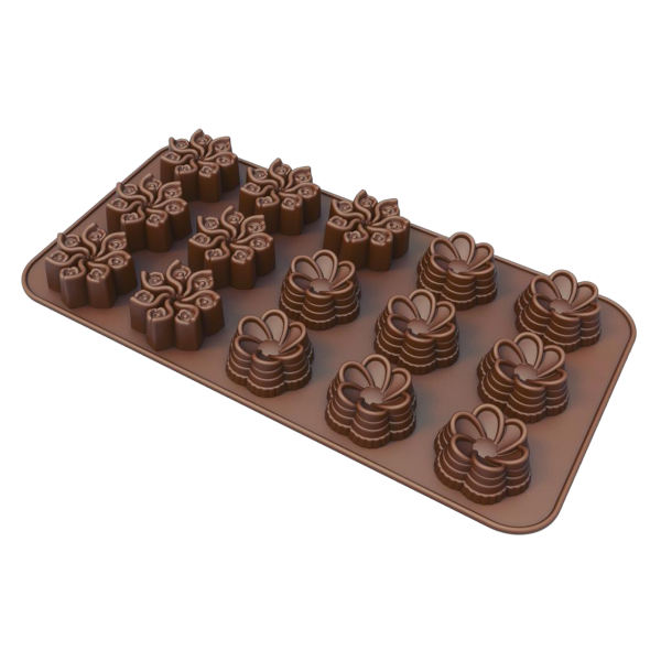 قالب شکلات طرح گل
