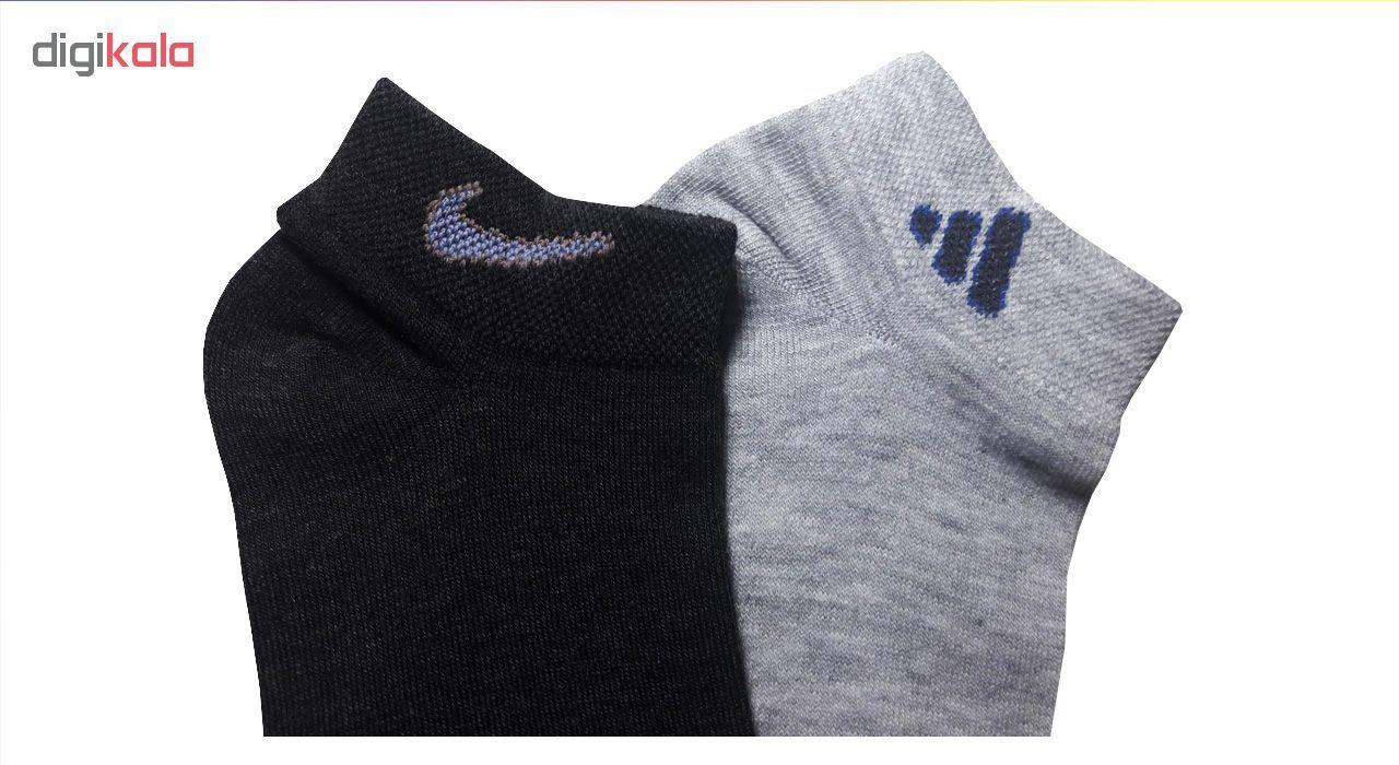 جوراب مردانه زند کد A 96 مجموعه 6 عددی main 1 1