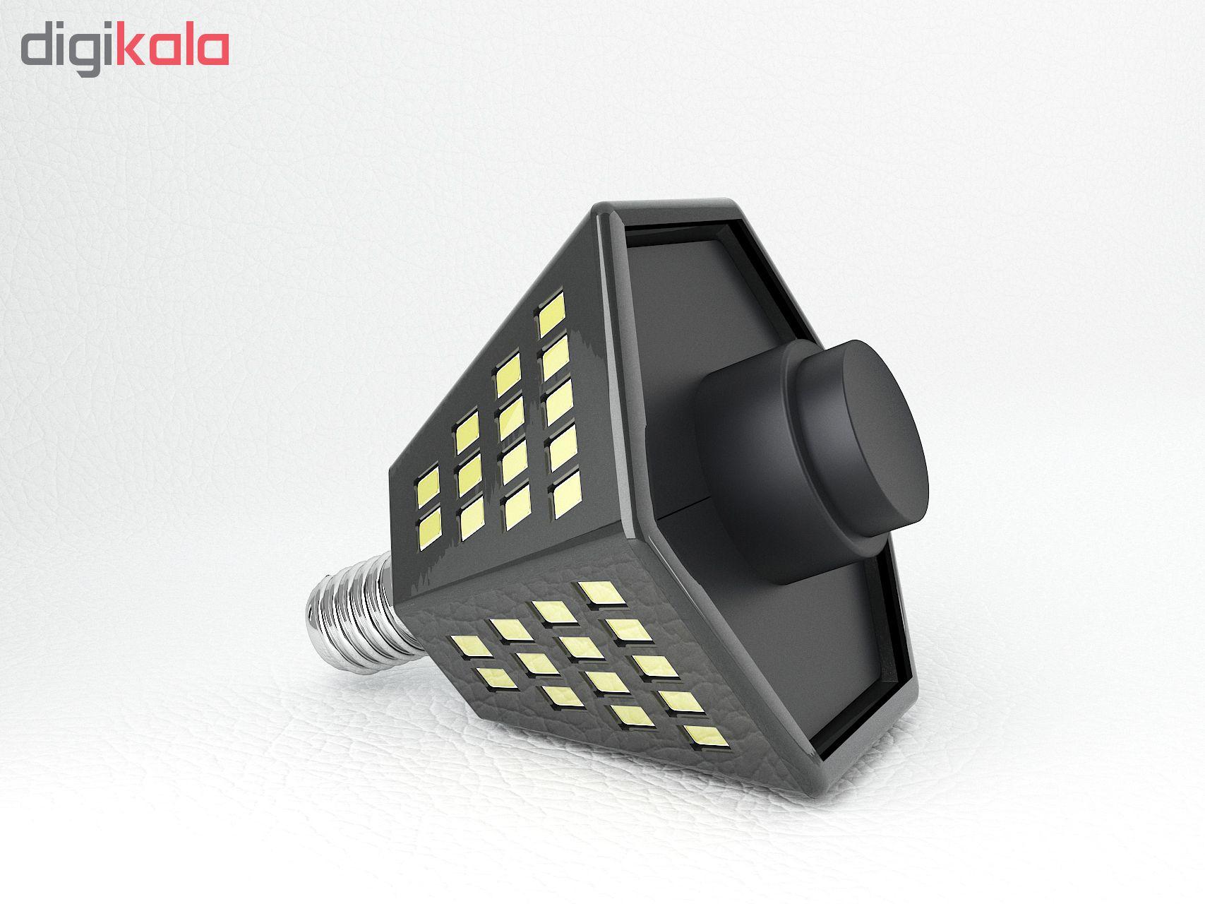 لامپ ال ای دی فوق کم مصرف 14 وات سوساز مدل چندسو SZ311 کد 01 پایه E14