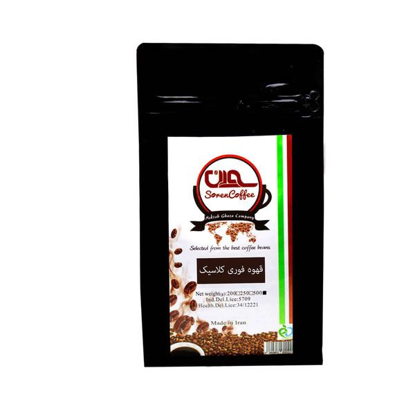 قهوه فوری کلاسیک سورن کد CL5-4354 مقدار 500 گرم