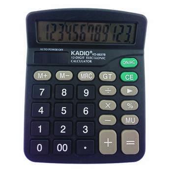 ماشین حساب کادیو مدل KD-8837B