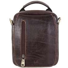 کیف دوشی مردانه شهرچرم کد 21110852