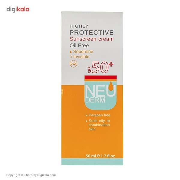 کرم ضد آفتاب نئودرم مدل Highly Protective SPF50 حجم 50 میلی لیتر main 1 3