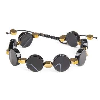 دستبند زنانه ریسه گالری کد A1047BG