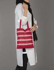 کیف دوشی زنانه - ویولتا بای مانگو تک سایز - قرمز - 3