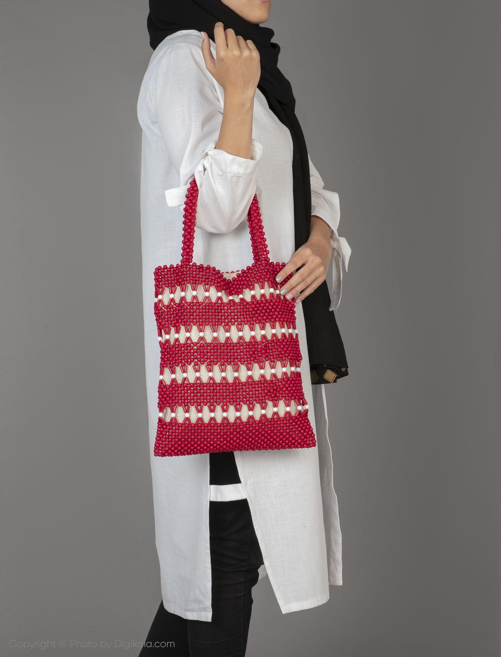 کیف دوشی زنانه - ویولتا بای مانگو تک سایز - قرمز - 4