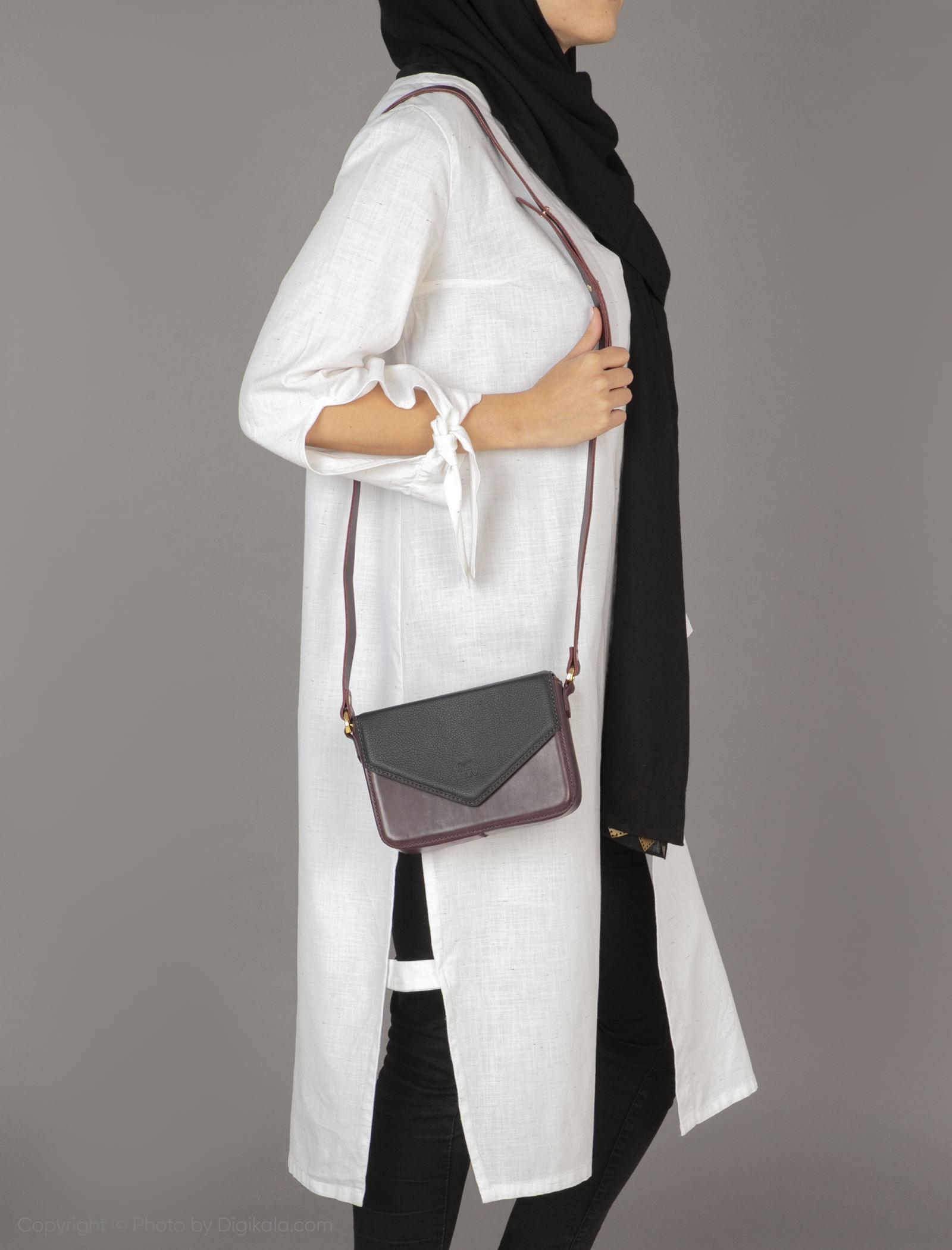 کیف دوشی زنانه دیو مدل 1573115-7099 -  - 2