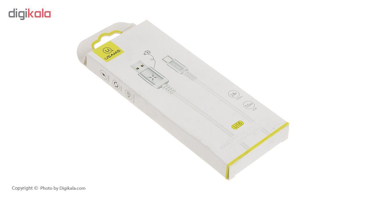 کابل تبدیل USB به USB-C یوسمز مدل US-SJ287 طول 1 متر main 1 14