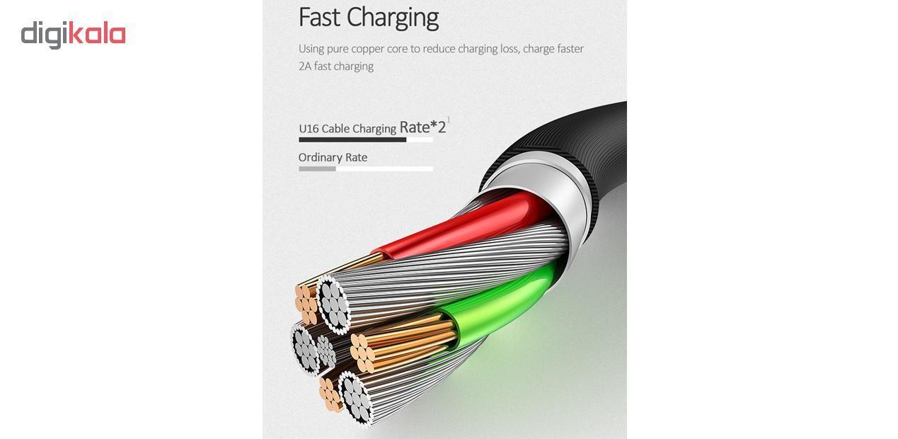کابل تبدیل USB به USB-C یوسمز مدل US-SJ287 طول 1 متر main 1 13