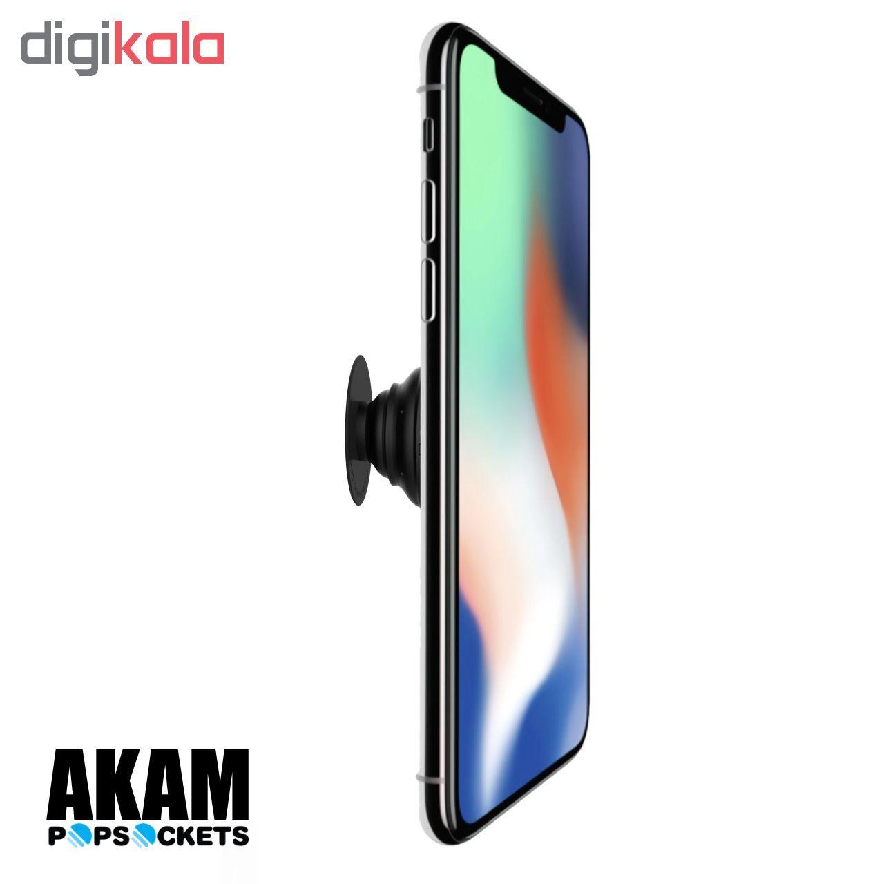 پایه نگهدارنده گوشی موبایل پاپ سوکت آکام مدل APS0168 main 1 9