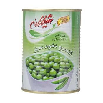 کنسرو نخود سبز شیلانه - 380 گرم