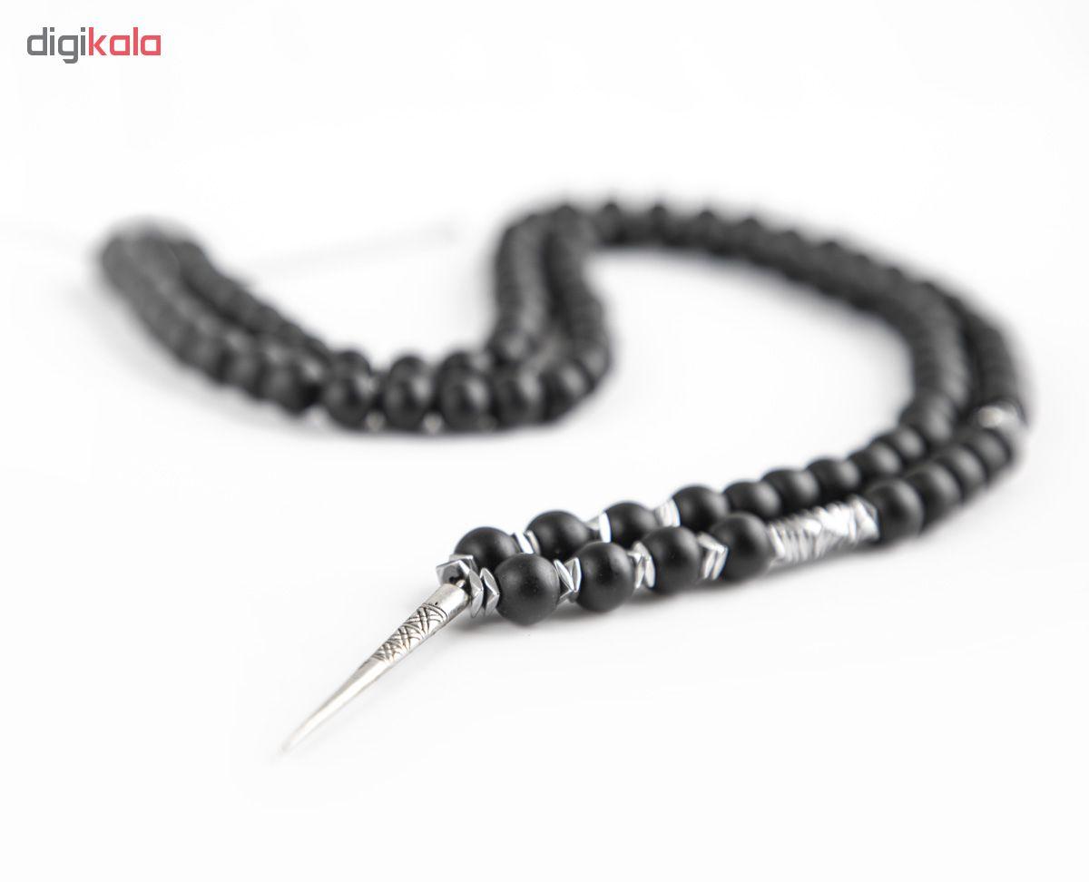 گردنبند نقره مردانه ریسه گالری مدل B5029-Silver