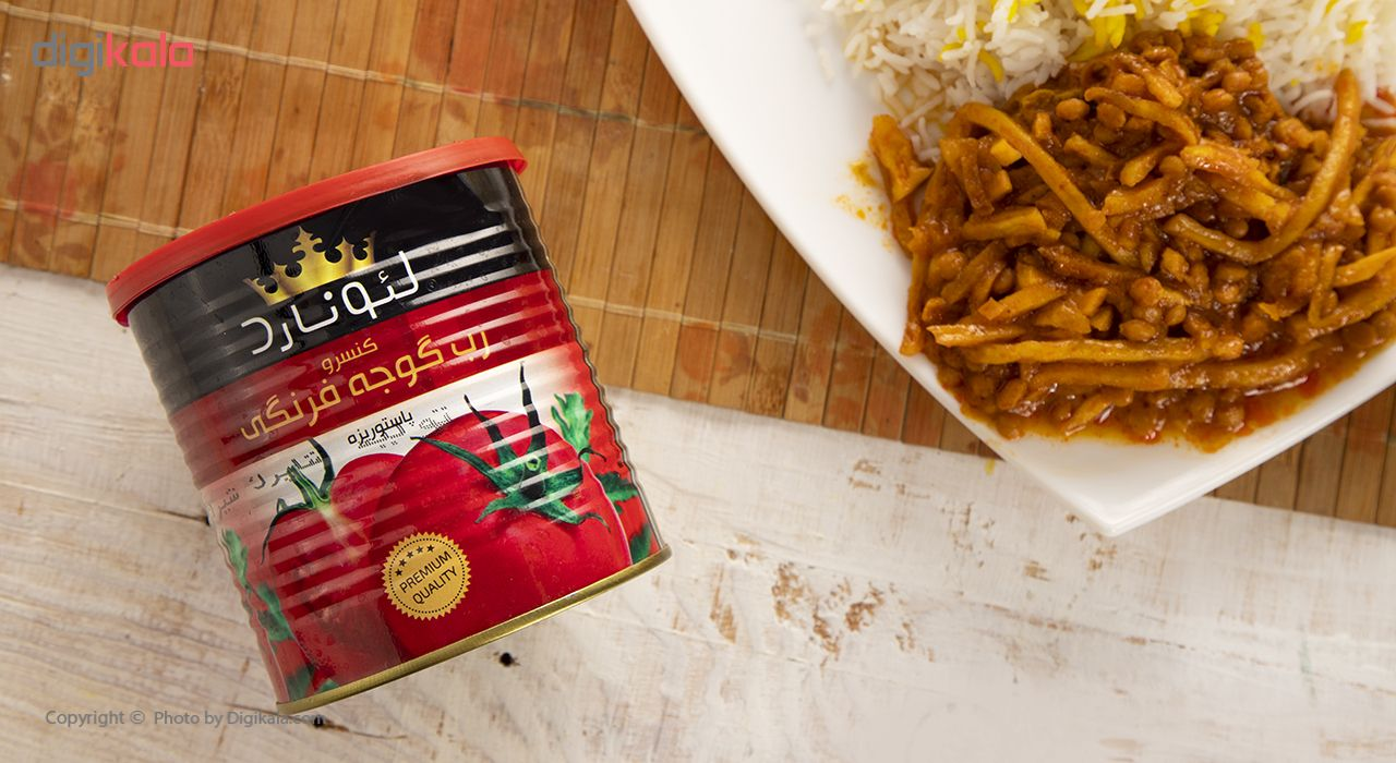 کنسرو رب گوجه فرنگی لئونارد وزن 800 گرم