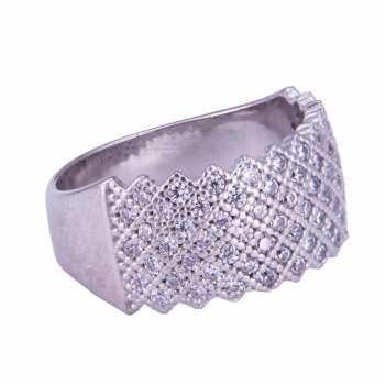 انگشتر نقره زنانه کد 1109E1