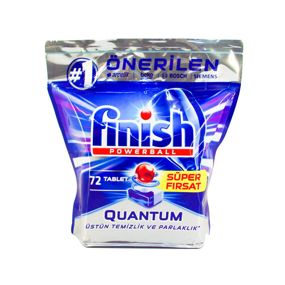 قرص ماشین ظرفشویی فینیش مدل Quantum بسته 72 عددی