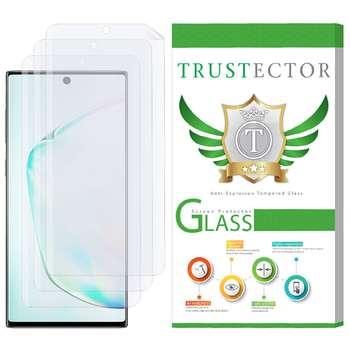 محافظ صفحه نمایش تراستکتور مدل GNF مناسب برای گوشی موبایل سامسونگ Galaxy Note 10 Plus بسته 3 عددی