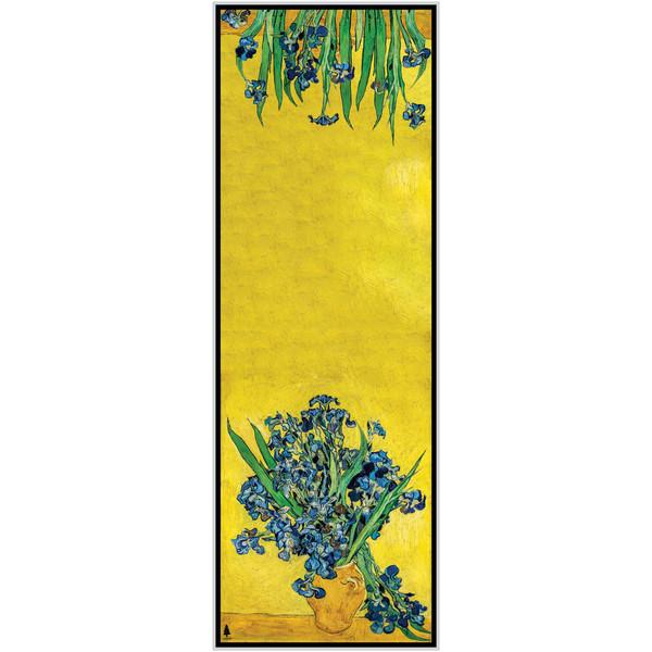 شال زنانه سدروس طرح گلدان زنبق های آبی